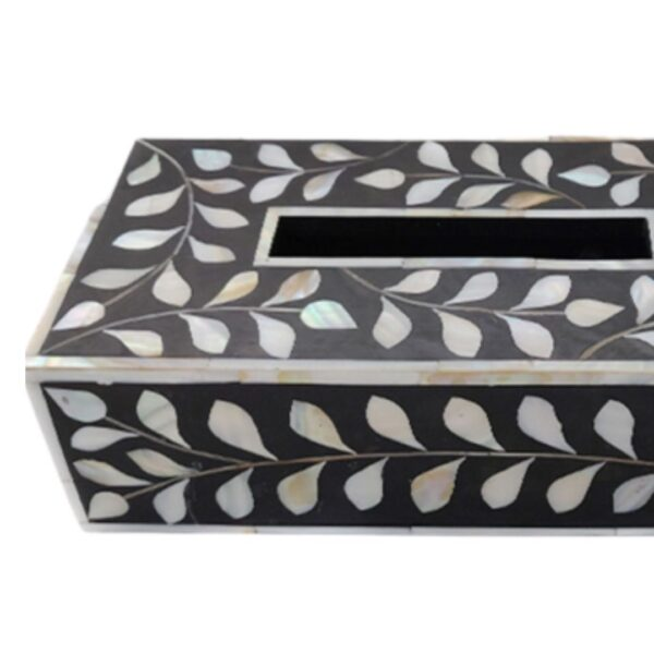 Mother of Pearl inlay Tissue Box
