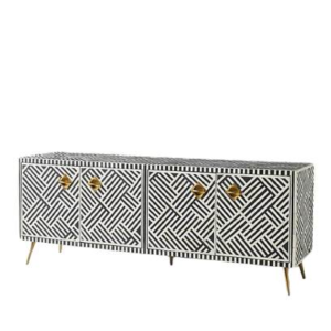 Bone Inlay media console