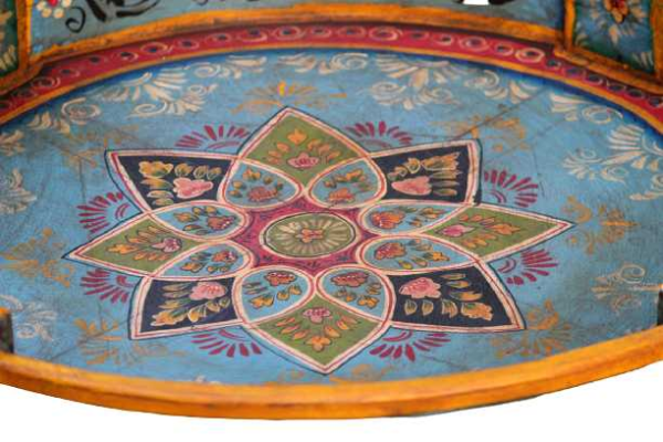 Hand Painted Grinder Table