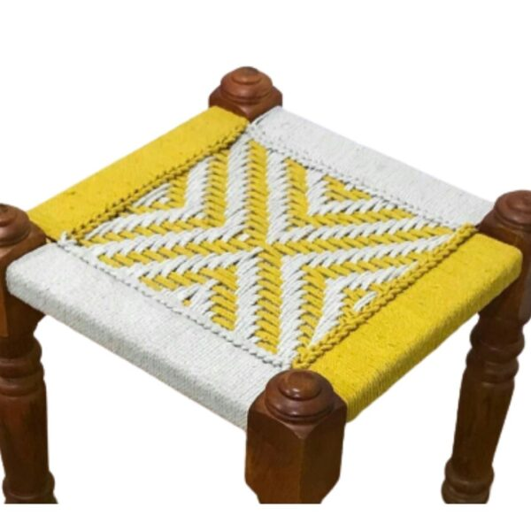 Hand woven Stool