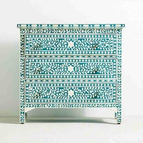 one Inlay Turquoise Chest OfDrawers