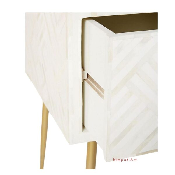 Bone Inlay Desk This beautiful sideboard is large in size and is certainly a timeless investment that will add everlasting elegance to your home.