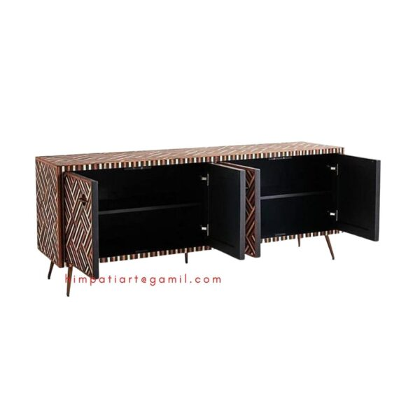 Bone inlay Entertainment Unit