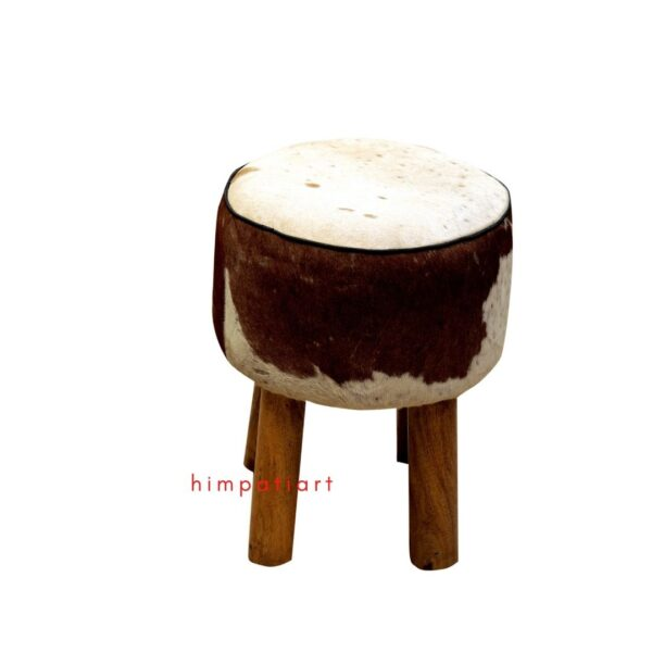 leather foot stool ottoman