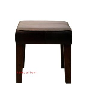 Leather Wooden Chair