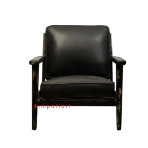Vintage leather sofa chair